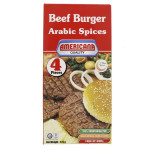 Americana 4 Arabic Spices Beef Burger 224G
