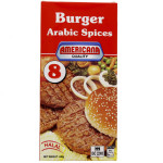 Americana 8 Arabic Spices Beef Burger 448G