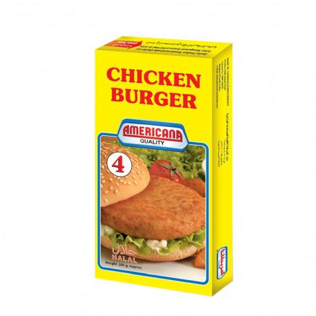 Americana 4 Chicken Burger 200G