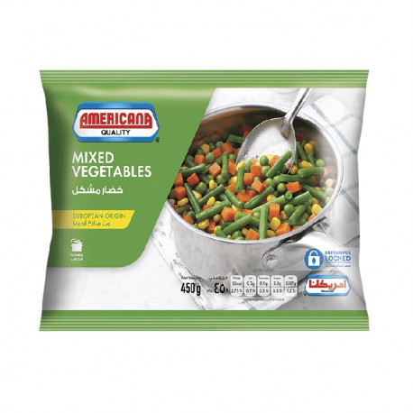 Americana Mixed Vegetable 450G