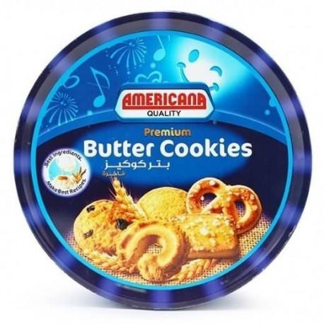 Americana Premium Butter Cookies Blue 454G