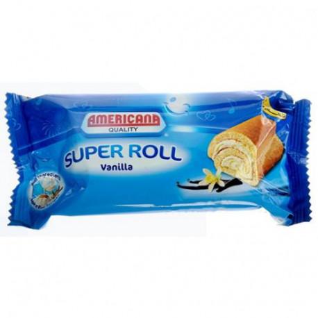 Americana Super Roll Vanilla Cake 60G