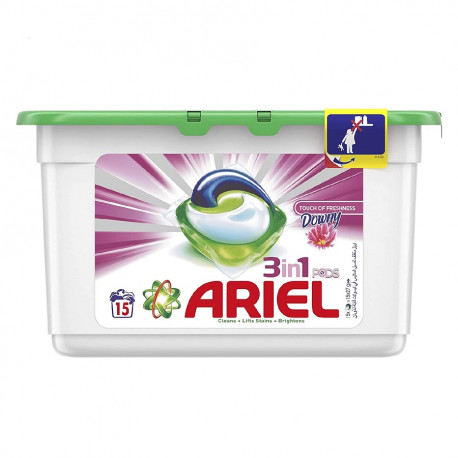 Ariel 3in1 Downy Freshnesss Laundry Pods 15 Pieces