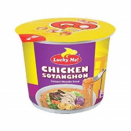 Lucky Me Chicken Sotanghon Vermicelli Noodle Soup 28G