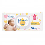 Johnsons Extra Sensitive baby Wipes 56 Pieces
