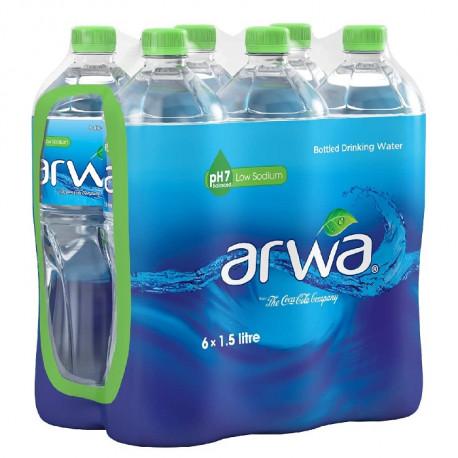 Arwa Water Pack 6x1.5L