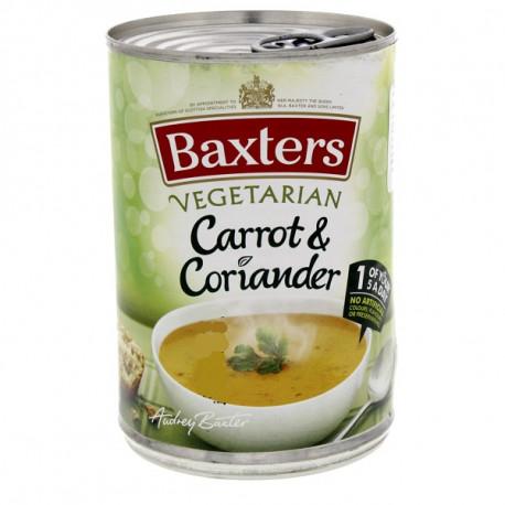 Baxters Vegetarian Carrot & Coriander 400g