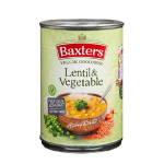 Baxters Vegetarian Lentil & Vegetable Soup 400g