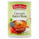 Baxters Vegetarian Carrot & Butterbean Soup 400G