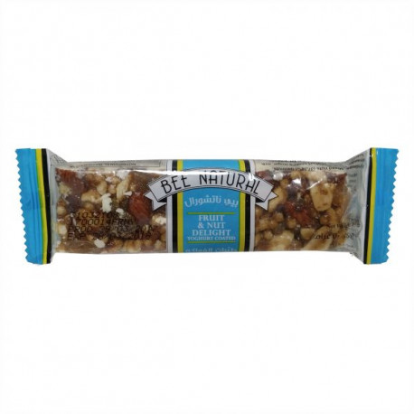 Bee Natural Fruit & Nut Yoghurt Cereal Bar 50