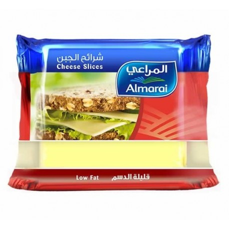 Almarai Cheese Slices Low Fat 200g