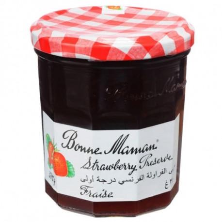 Bonne Maman Strawberry Preserves Jam 370G