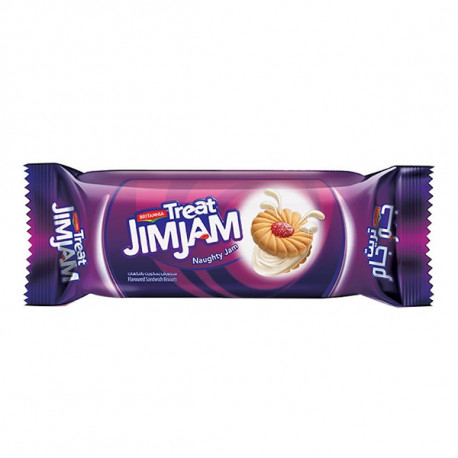 Britannia Treat Jim Jam Biscuits 100G
