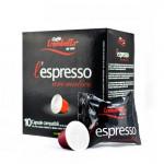 Caffe Trombetta L'espresso Italian Aromatica 10 Coffee Capsules