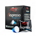 Caffe Trombetta L'espresso Italian Decaffeinato 10 Coffee Capsules