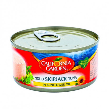 California Garden Solid Skipjack Tuna In Sunflower Oil 142G