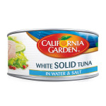 California Garden White Solid Tuna in Water 185G