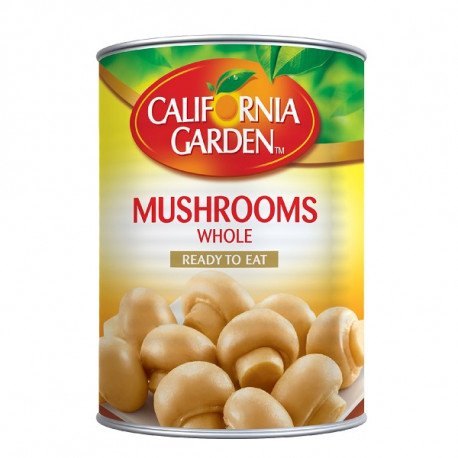 California Garden Whole Mushroom 425G