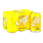 Canada Dry Tonic Water Pack 6x355ML