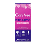 Carefree Plus Large Pantyliners Pack of 20