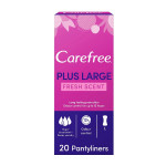 Carefree Plus Large Fresh Scent Pantyliners Pack of 20