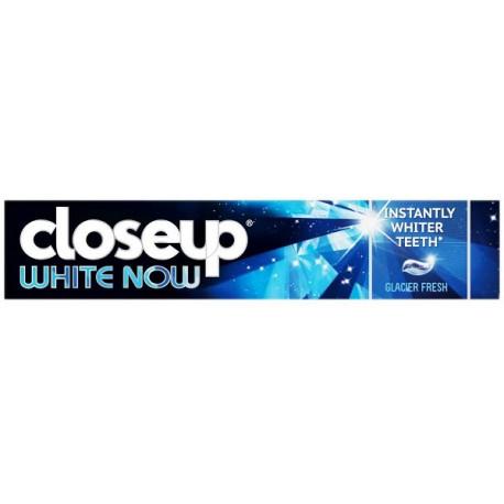 Closeup White Now Glacier Fresh Toothpaste 75ML