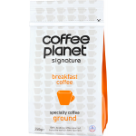 Coffee Planet Breakfast Ground 250g