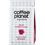 Coffee Planet Decaf Ground 250g
