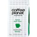 Coffee Planet Signature Italian Dark Roast Coffee 250G