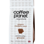 Coffee Planet Organic Ground 250g