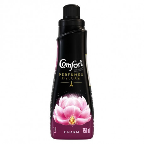 Comfort Perfumes Deluxe Concentrated Fabric Softener Charm 750ML
