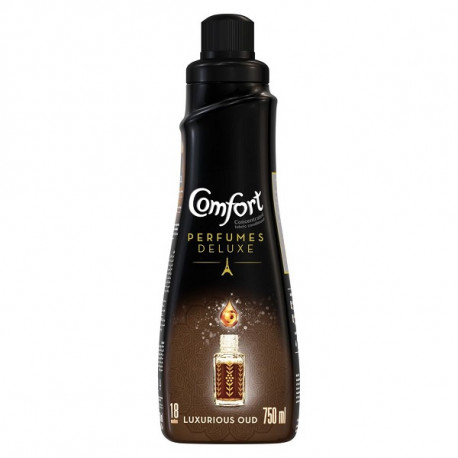 Comfort Perfumes Deluxe Concentrated Fabric Softener Luxurious Oud 750ML