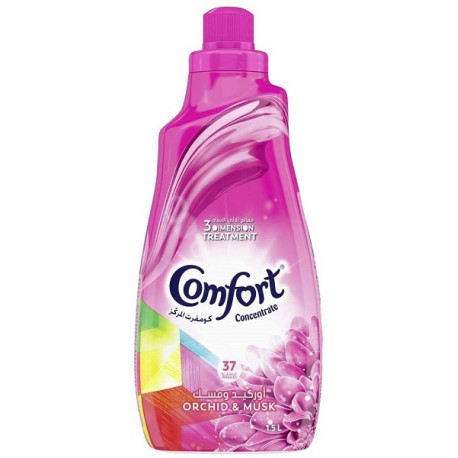 Comfort Concentrate Fabric Softener Orchid & Musk 1.5L
