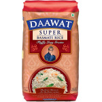 Daawat White Indian Basmati Rice 1KG