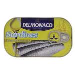 Delmonaco Sardines In Vegetable Oil 125G