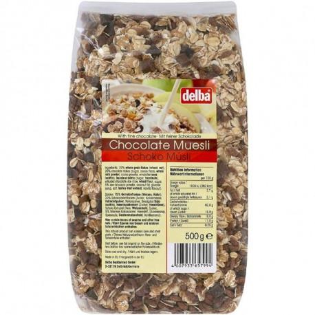 Delba Chocolate Muesli 500G