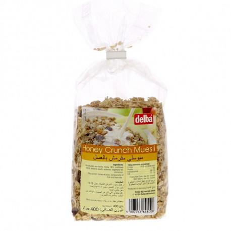 Delba Honey Crunch Muesli 400G