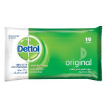 Dettol Original Antibacterial Skin 10 Wipes