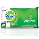Dettol Original Antibacterial 20 Wipes