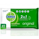 Dettol Original Antibacterial 40 Wipes