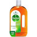 Dettol Anti Bacterial Antiseptic Disinfectant 750ML