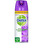 Dettol Anti Bacterial Lavender Disinfectant Spray 450ML