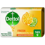 Dettol Fresh Anti Bacterial Soap Bar 165G