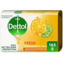 Dettol Fresh Anti Bacterial Soap Bar 165G