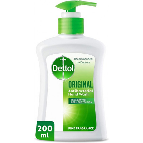 Dettol Original Pine Fragreance Handwash 200ML