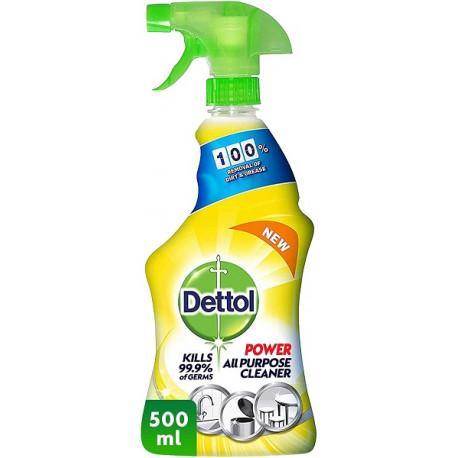 Dettol All Purpose Lemon Cleaner Spray 500ML