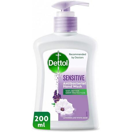 Dettol Sensitive Lavender & White Musk Handwash 200ML