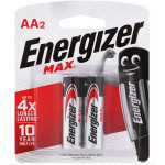 Energizer Max AA2 Pack of 2