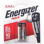 Energizer Max AAA2 Pack of 2