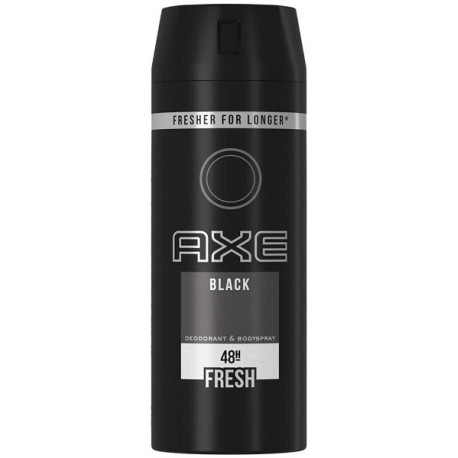 Axe Black Deodorant & Bodyspray 150ML